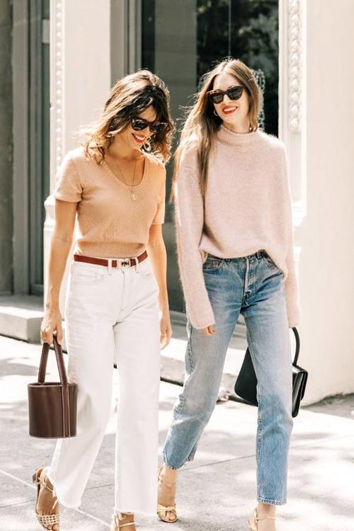 Quên kiểu quần jeans bó giò đi, đây mới là mốt jeans thống trị 2019 - Ảnh 12