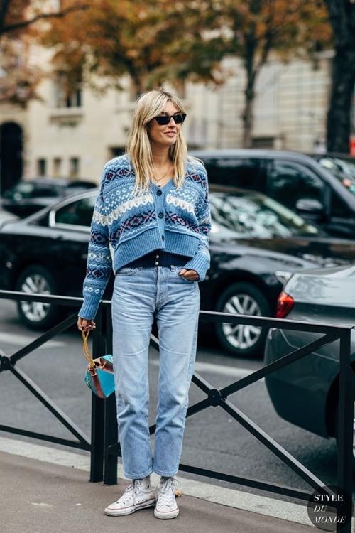 Quên kiểu quần jeans bó giò đi, đây mới là mốt jeans thống trị 2019 - Ảnh 5