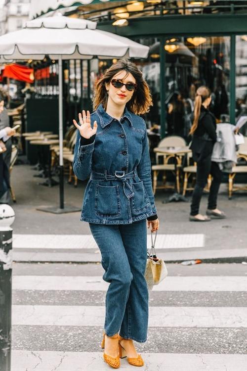 Quên kiểu quần jeans bó giò đi, đây mới là mốt jeans thống trị 2019 - Ảnh 6