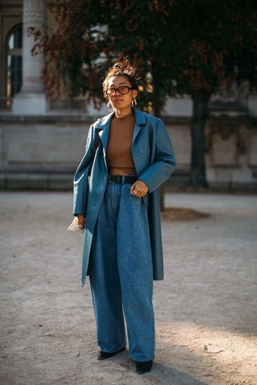 Quên kiểu quần jeans bó giò đi, đây mới là mốt jeans thống trị 2019 - Ảnh 7