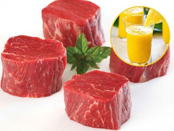 Thịt bò già, dai đến mấy cũng phải mềm ngon khi cho một ít nước này vào - Ảnh 1