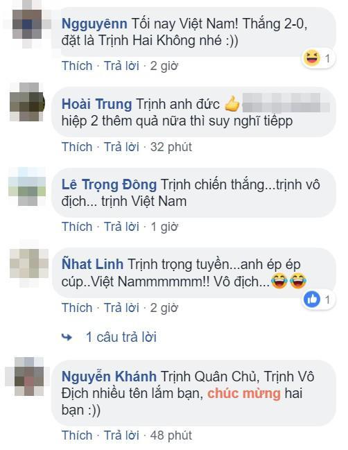 Vợ đẻ đúng ngày Việt Nam vô địch AFF Cup 2018, chồng lên mạng nhờ đặt tên cho con và cái kết - Ảnh 2
