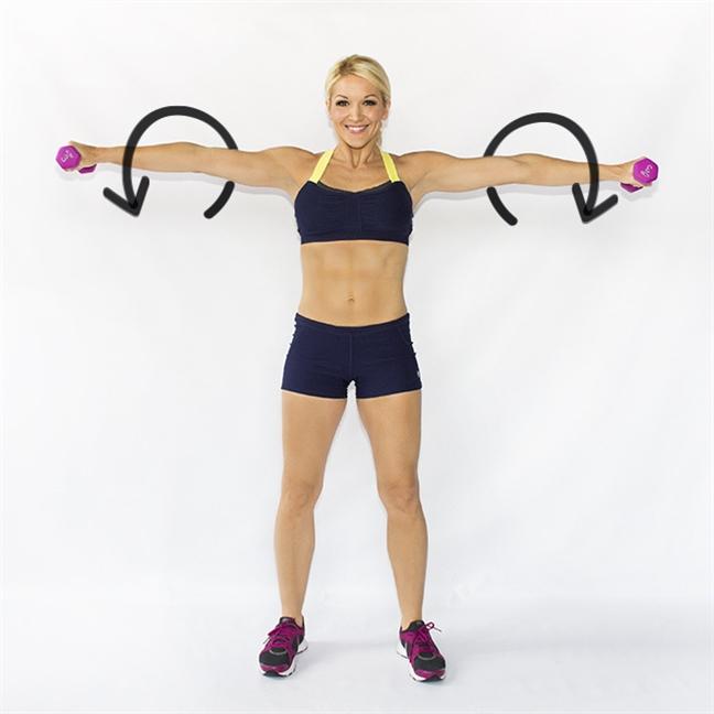 10 bài tập giúp tăng cơ, giảm mỡ để đón tết - Ảnh 1
