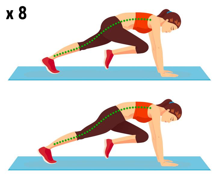 5 bài tập giảm béo bụng, săn chắc vòng eo hiệu quả mà không cần chạy nhảy - Ảnh 2