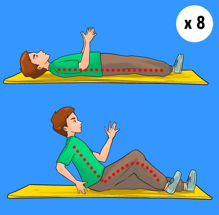 5 bài tập giảm béo bụng, săn chắc vòng eo hiệu quả mà không cần chạy nhảy - Ảnh 5