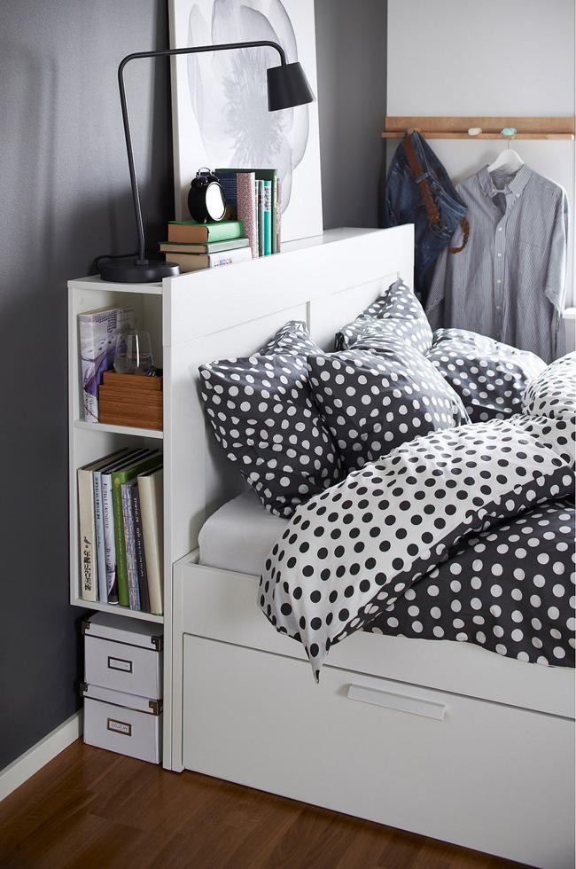 7 món nội thất có giá rẻ bất ngờ bạn có thể mua để lưu trữ tối đa cho phòng ngủ có diện tích nhỏ - Ảnh 3