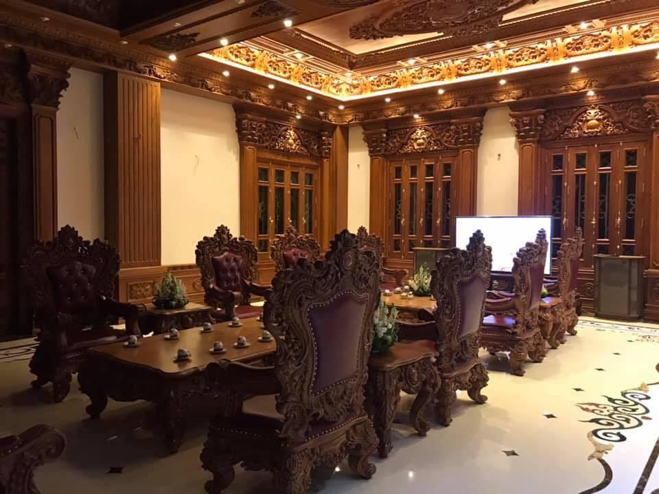 Lâu đài của đại gia Nam Định có con gái đeo vàng trĩu cổ ngày cưới - Ảnh 11