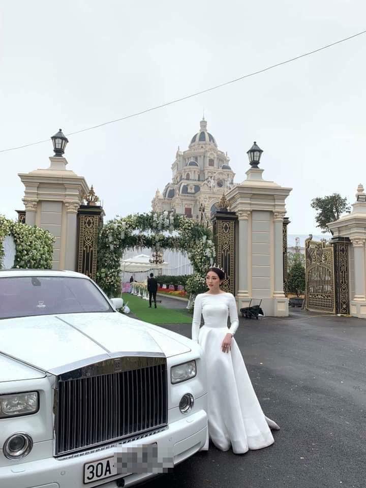 Lâu đài của đại gia Nam Định có con gái đeo vàng trĩu cổ ngày cưới - Ảnh 3