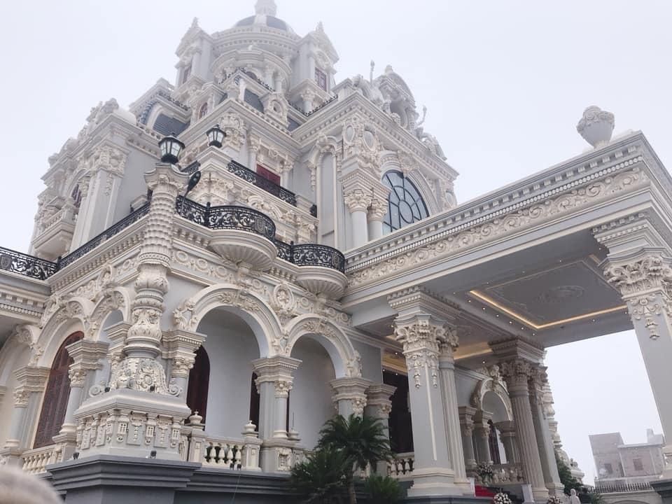 Lâu đài của đại gia Nam Định có con gái đeo vàng trĩu cổ ngày cưới - Ảnh 6
