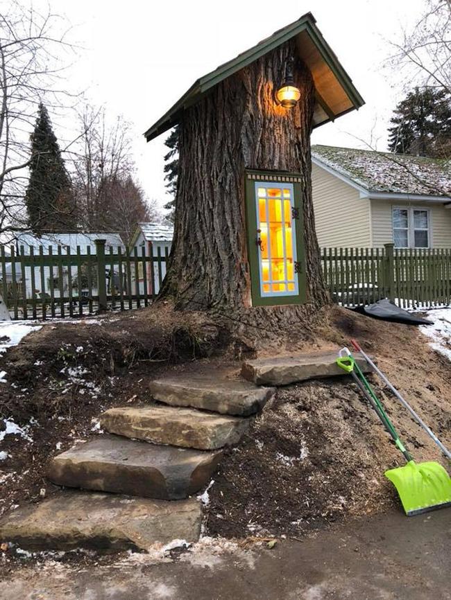 Hi sinh cây cổ thụ trăm tuổi cạnh nhà, người phụ nữ xây dựng thành một thư viện đầu tiên cho cả khu dân cư - Ảnh 4