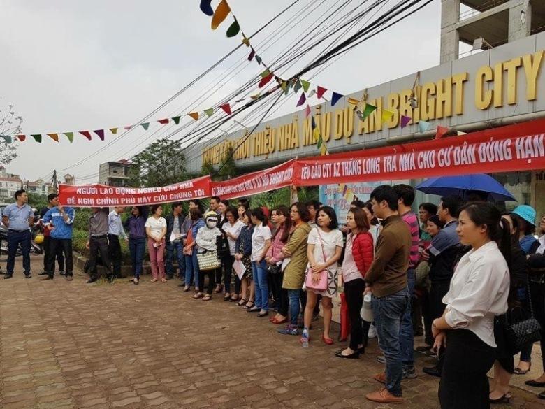 Khách hàng nhà ở xã hội kéo lên Sở Xây dựng 'kêu cứu': Sở lên tiếng - Ảnh 2
