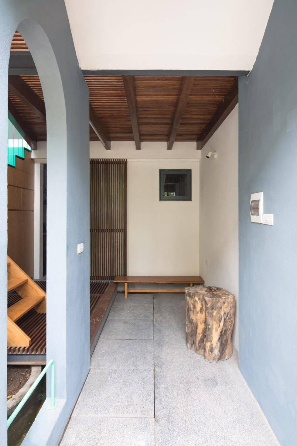 Ngôi nhà ống chỉ vỏn vẹn 36m² nhưng thoáng đẹp bất ngờ của gia đình có trẻ nhỏ ở Gia Lâm, Hà Nội - Ảnh 5