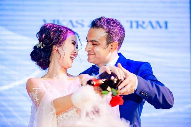 Võ Hạ Trâm gửi lời ngọt ngào đến chồng doanh nhân Ấn Độ sau đám cưới - Ảnh 1
