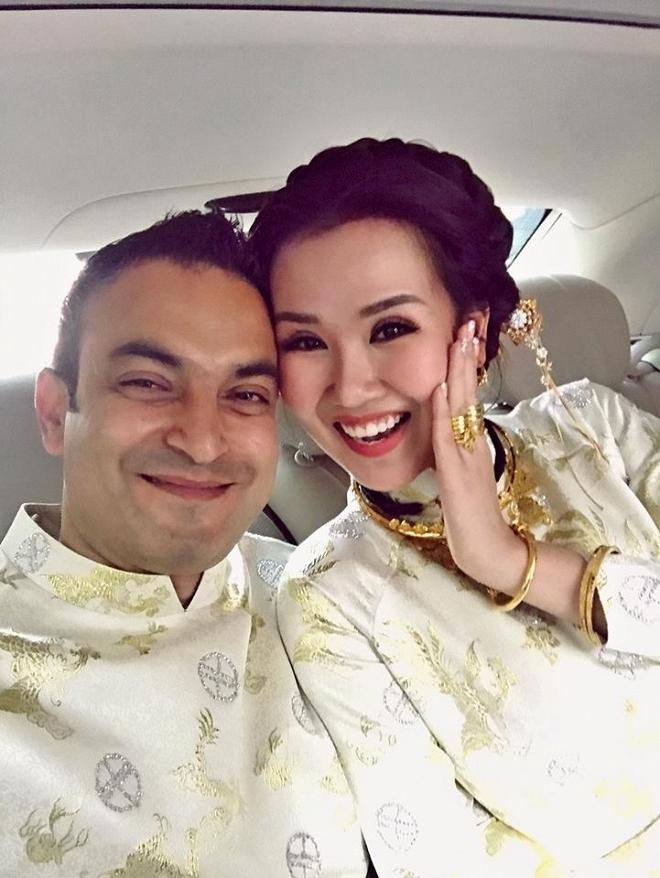 Võ Hạ Trâm gửi lời ngọt ngào đến chồng doanh nhân Ấn Độ sau đám cưới - Ảnh 2