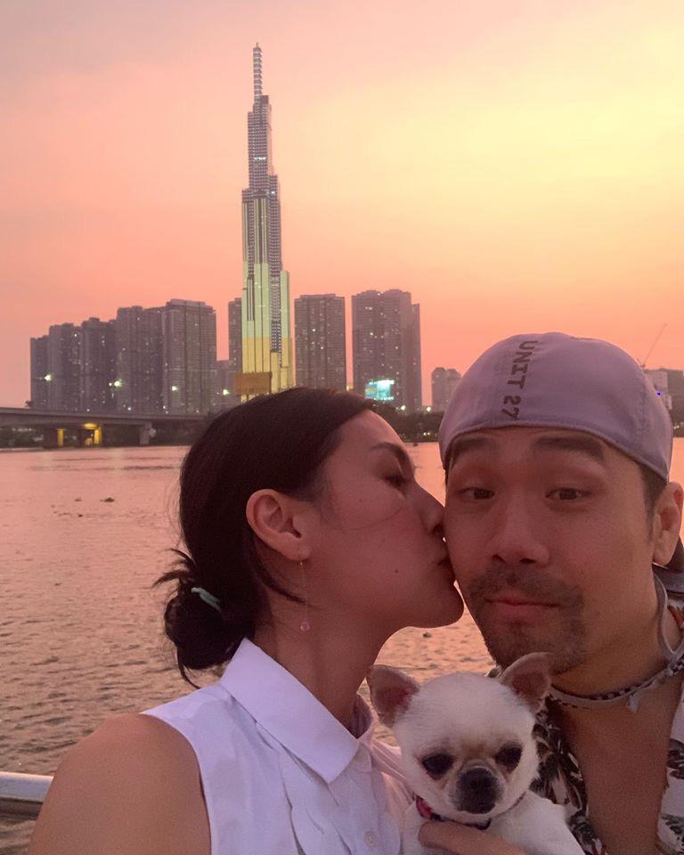 Kathy Uyên lần đầu công khai bạn trai sau khi chia tay mối tình 10 năm, tưởng ai xa lạ hóa ra bạn thân của vợ chồng Hà Tăng - Ảnh 4