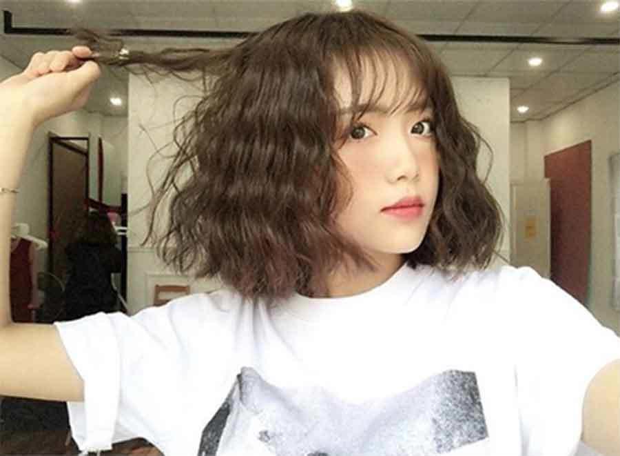 8 kiểu tóc ngắn cho cô nàng mặt tròn thêm xinh trong mùa hè - Ảnh 8
