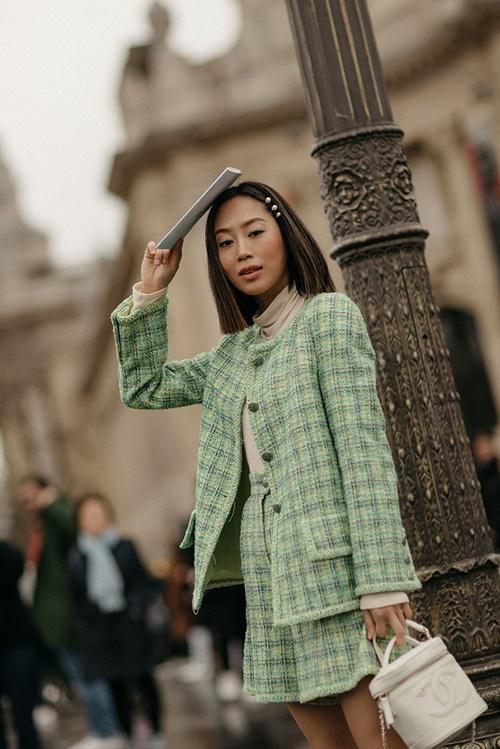 Nàng công sở học được gì từ 2 fashionista đình đám gốc Hàn? - Ảnh 2