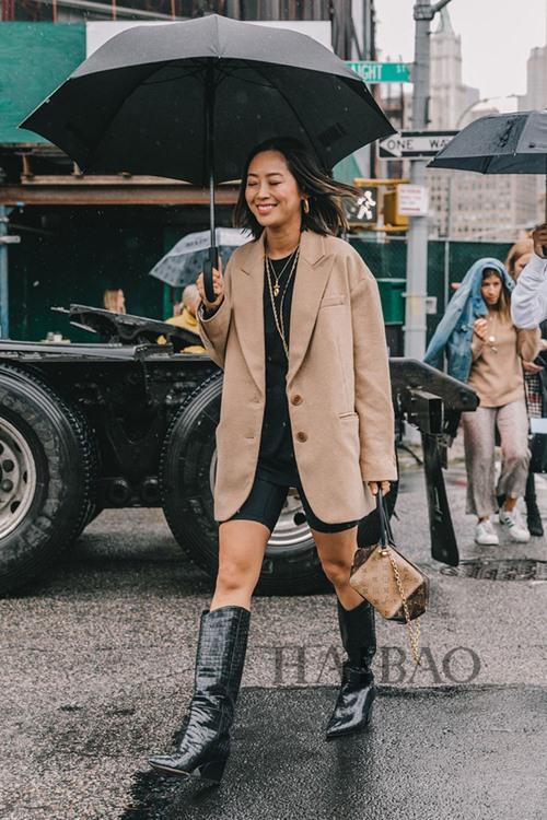 Nàng công sở học được gì từ 2 fashionista đình đám gốc Hàn? - Ảnh 9