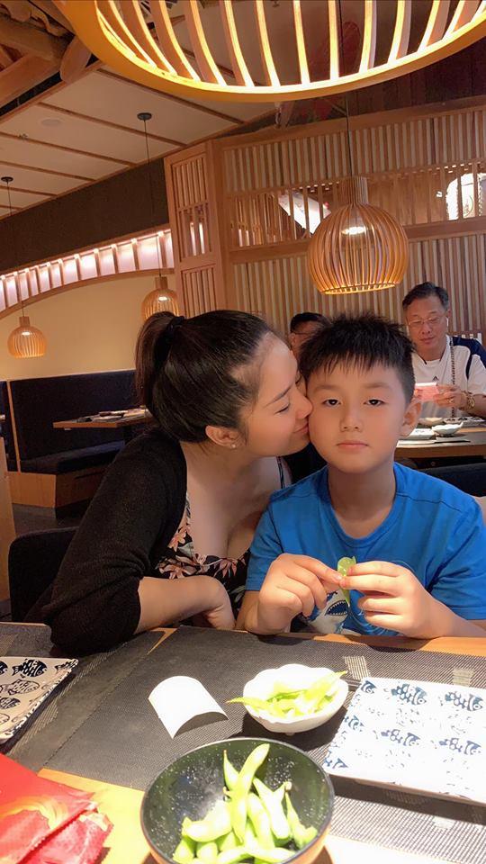 Đang bầu bí, Lê Phương nghẹn ngào khi đọc thư con trai gửi lúc cậu bé sắp xa mẹ - Ảnh 4