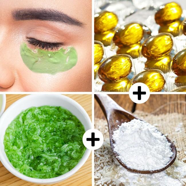 8 loại mặt nạ từ nguyên liệu thiên nhiên loại bỏ quầng thâm mắt hiệu quả, giúp bạn luôn xinh đẹp rạng ngời - Ảnh 1