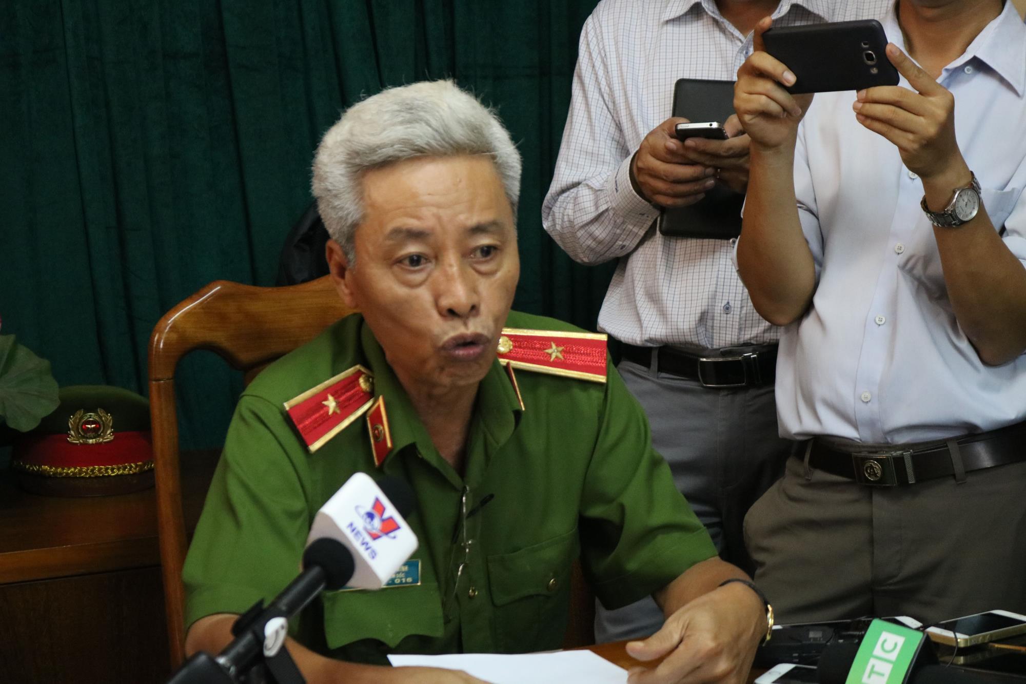 Họp báo vụ 2 hiệp sĩ Sài Gòn bị sát hại: Đã bắt được hai nghi can gây án  - Ảnh 2