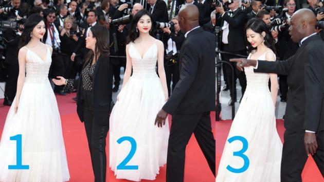 Đệ nhất mỹ nhân Bắc Kinh Cảnh Điềm 3 lần bị đuổi khéo khỏi thảm đỏ Cannes 2019 - Ảnh 7