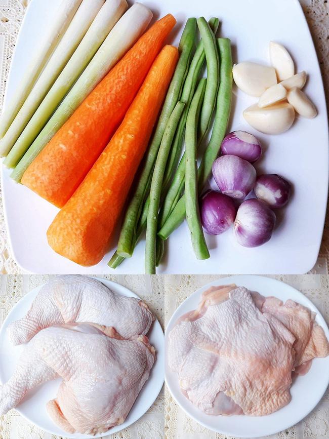 Bữa tối ngon đẹp như nhà hàng với món gà cuộn rau củ nướng thơm phức - Ảnh 1