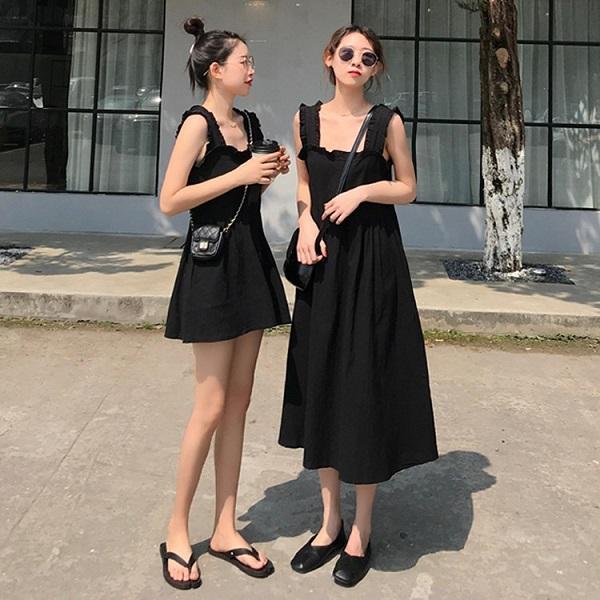 4 kiểu váy 2 dây sang chảnh cần có trong tủ đồ mùa hè này - Ảnh 4