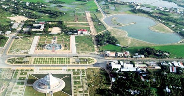 Ninh Thuận sắp có thêm khu đô thị mới ven Đầm Nại rộng 422ha - Ảnh 1