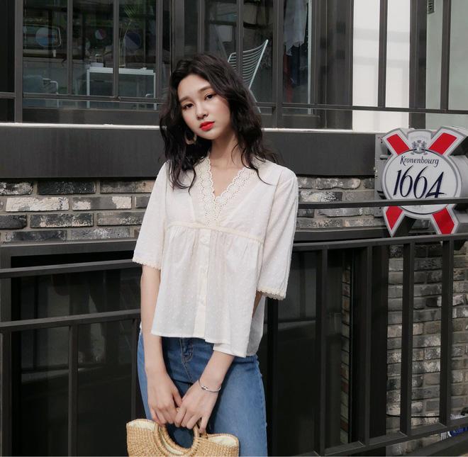 5 dáng áo blouse này đã gây sốt suốt từ đầu hè, hội chị em 'bánh bèo' không nên bỏ qua bất cứ mẫu nào - Ảnh 6