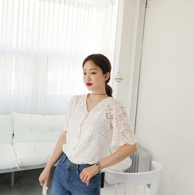 5 dáng áo blouse này đã gây sốt suốt từ đầu hè, hội chị em 'bánh bèo' không nên bỏ qua bất cứ mẫu nào - Ảnh 9