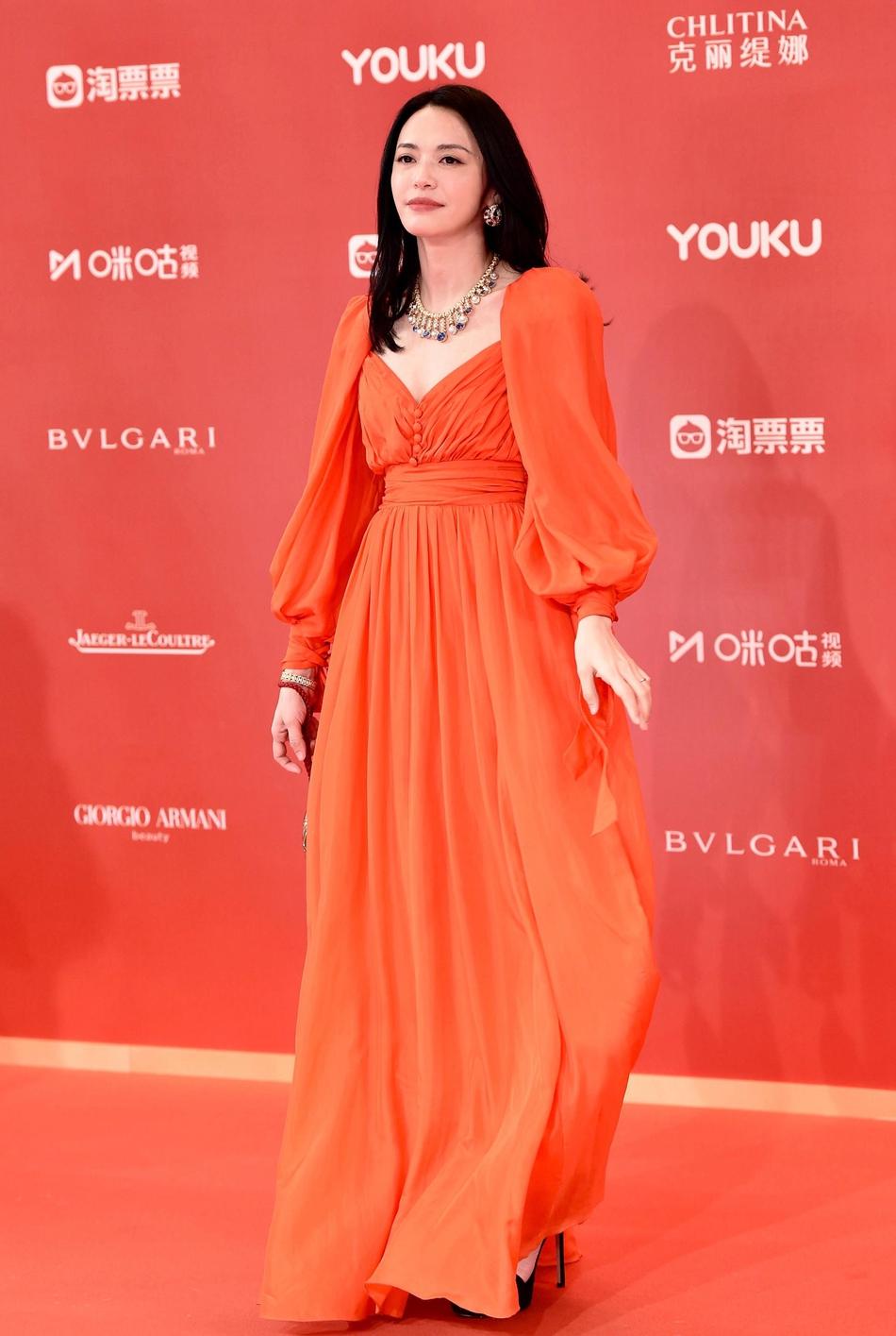 Dàn mỹ nhân Hoa ngữ đọ sắc trên thảm đỏ Liên hoan phim Thượng Hải 2019 - Ảnh 10