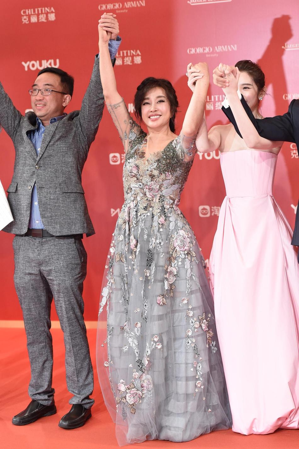 Dàn mỹ nhân Hoa ngữ đọ sắc trên thảm đỏ Liên hoan phim Thượng Hải 2019 - Ảnh 11