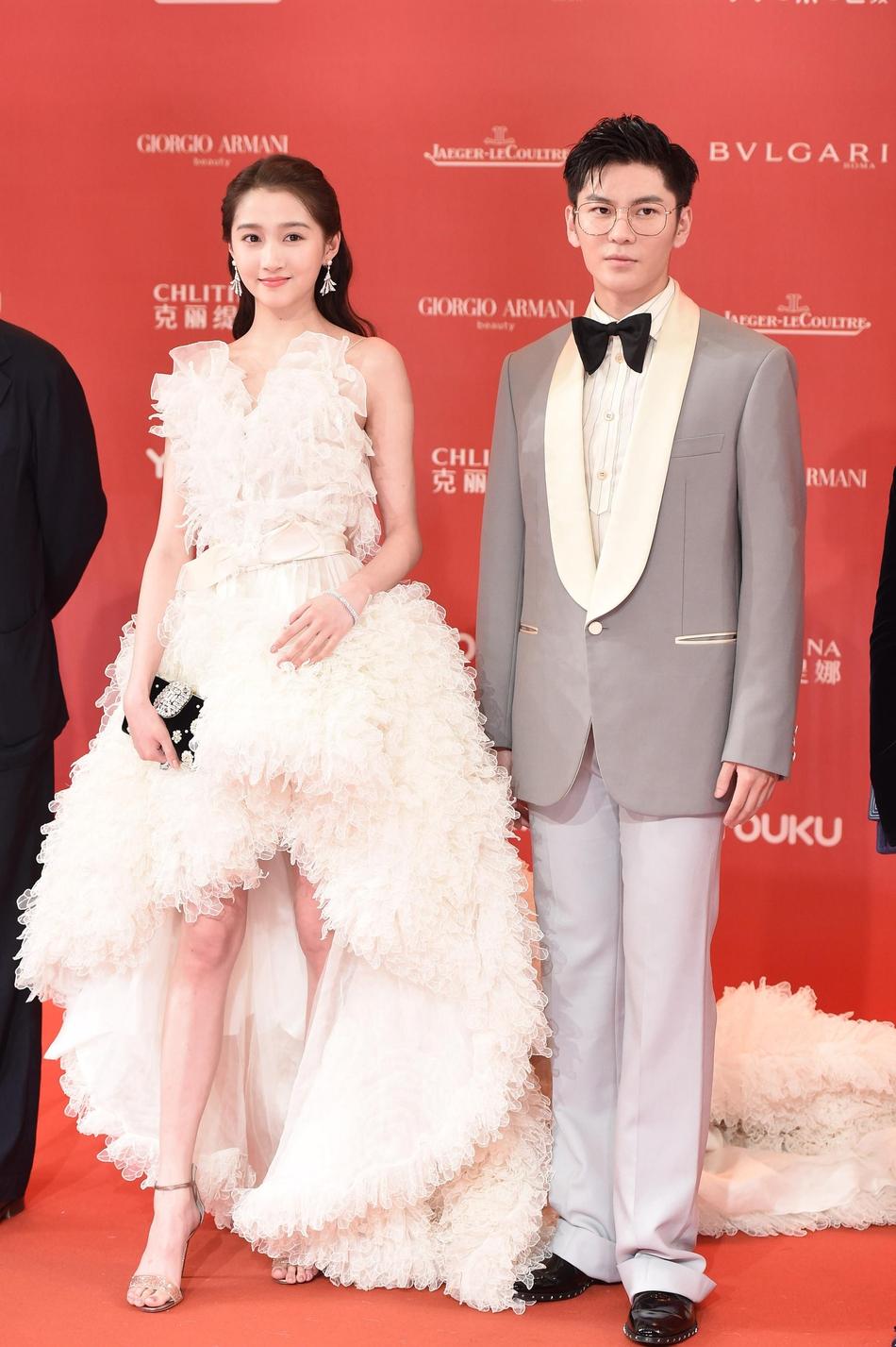 Dàn mỹ nhân Hoa ngữ đọ sắc trên thảm đỏ Liên hoan phim Thượng Hải 2019 - Ảnh 5