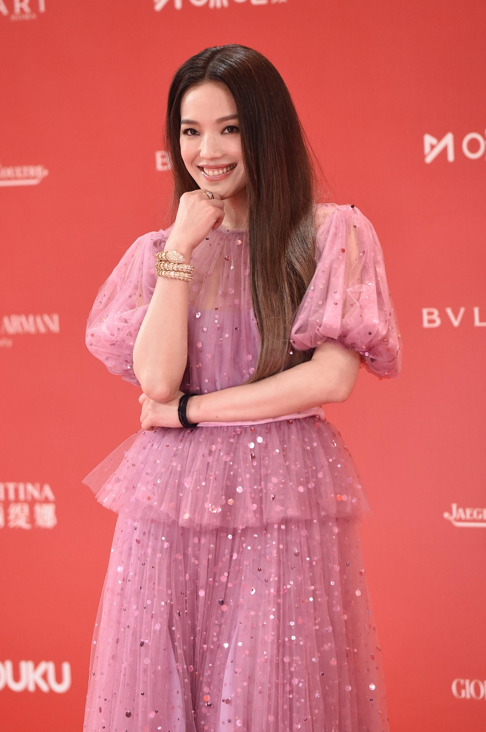 Dàn mỹ nhân Hoa ngữ đọ sắc trên thảm đỏ Liên hoan phim Thượng Hải 2019 - Ảnh 6