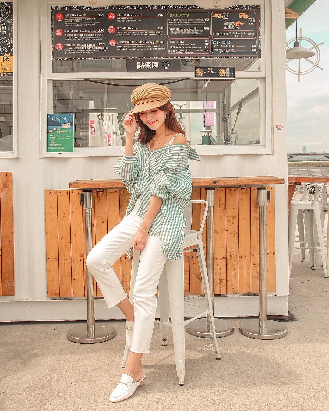 Diện quần jeans vào mùa hè: Sẽ rất đẹp mà không sợ nóng nếu bạn chọn 4 kiểu dáng này - Ảnh 5