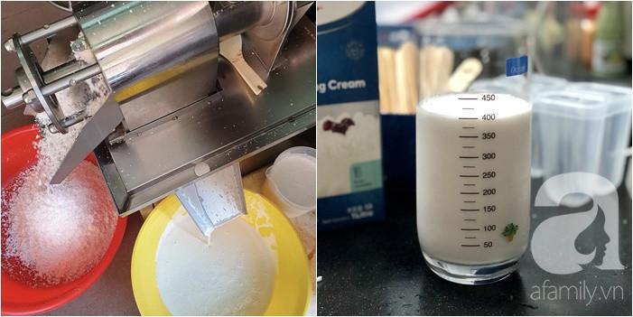 Đừng mua kem dừa 3k nữa, các mẹ hãy tự làm để đảm bảo an toàn vệ sinh thực phẩm cho cả nhà nhé! - Ảnh 2