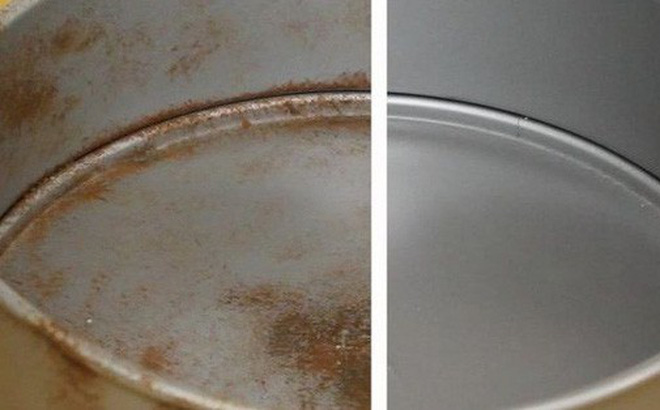 Chỉ với 20 nghìn đồng và 5 phút thực hiện, bạn đã có thể làm sạch đồ dùng bằng kim loại một cách nhanh chóng và dễ dàng - Ảnh 1