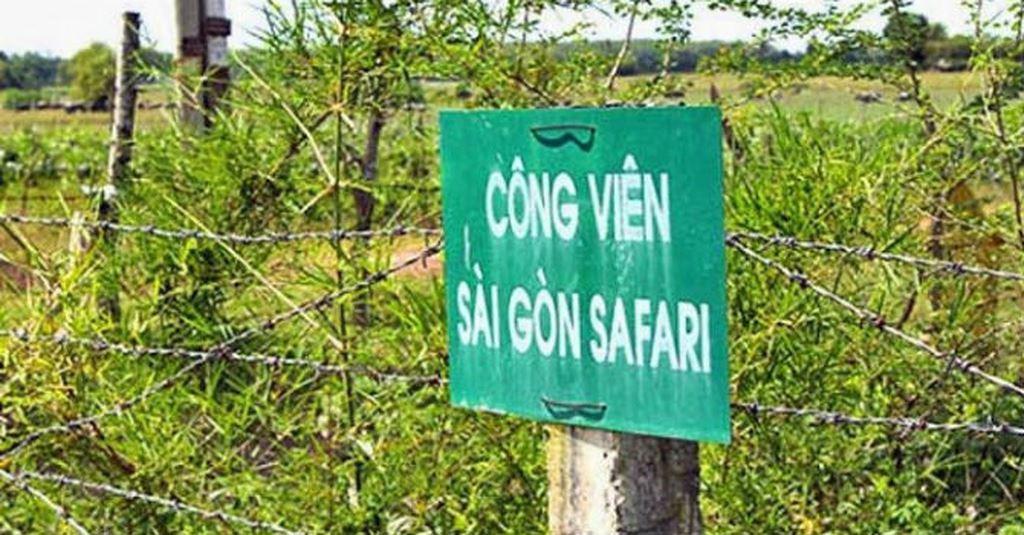 Nhiều sai phạm tại dự án Công viên Sài Gòn Safari - Ảnh 1