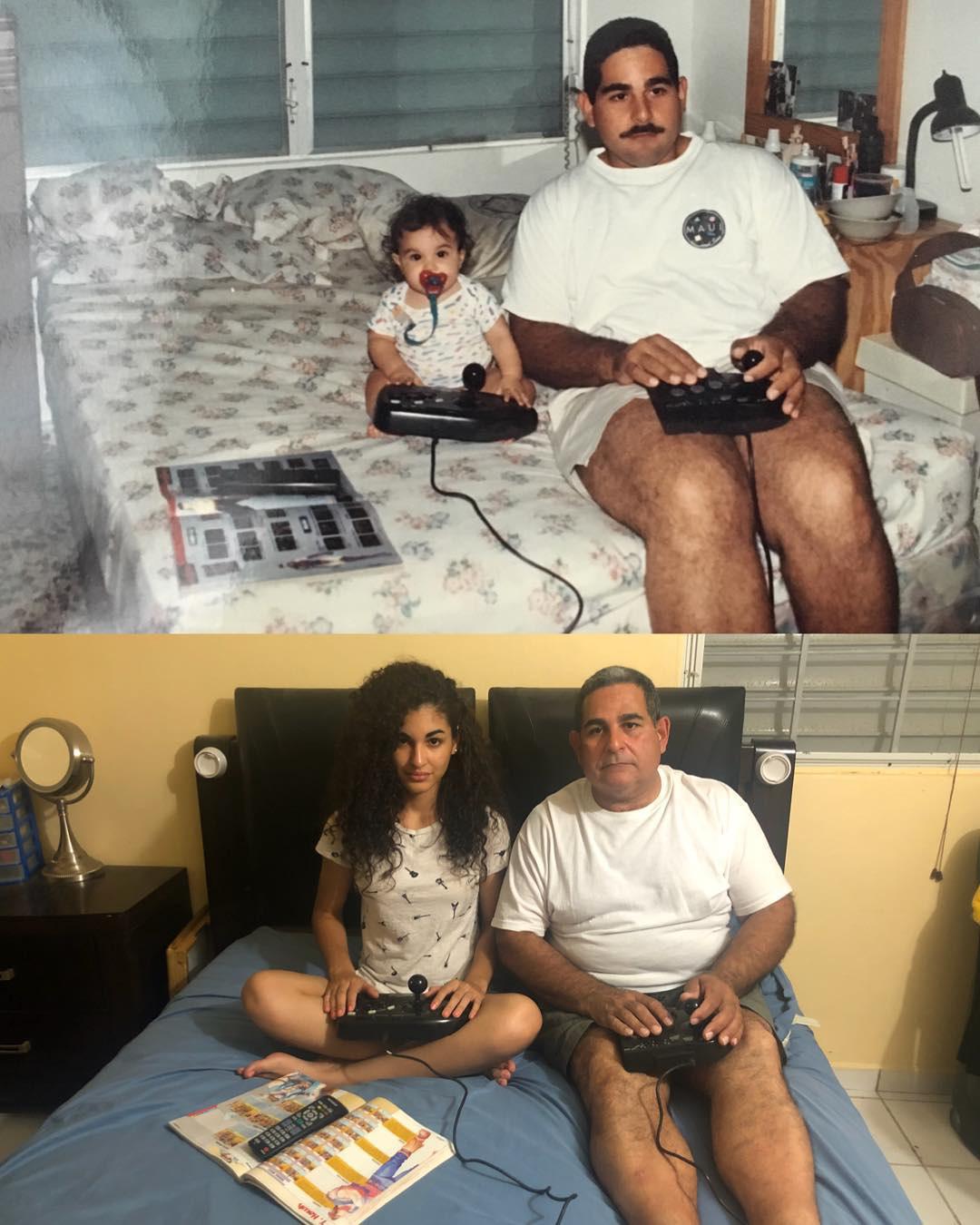 Các bố mẹ thi nhau khoe những bức hình chụp con ngày ấy - bây giờ, điều thú vị nằm ở 1 chi tiết đặc biệt - Ảnh 19