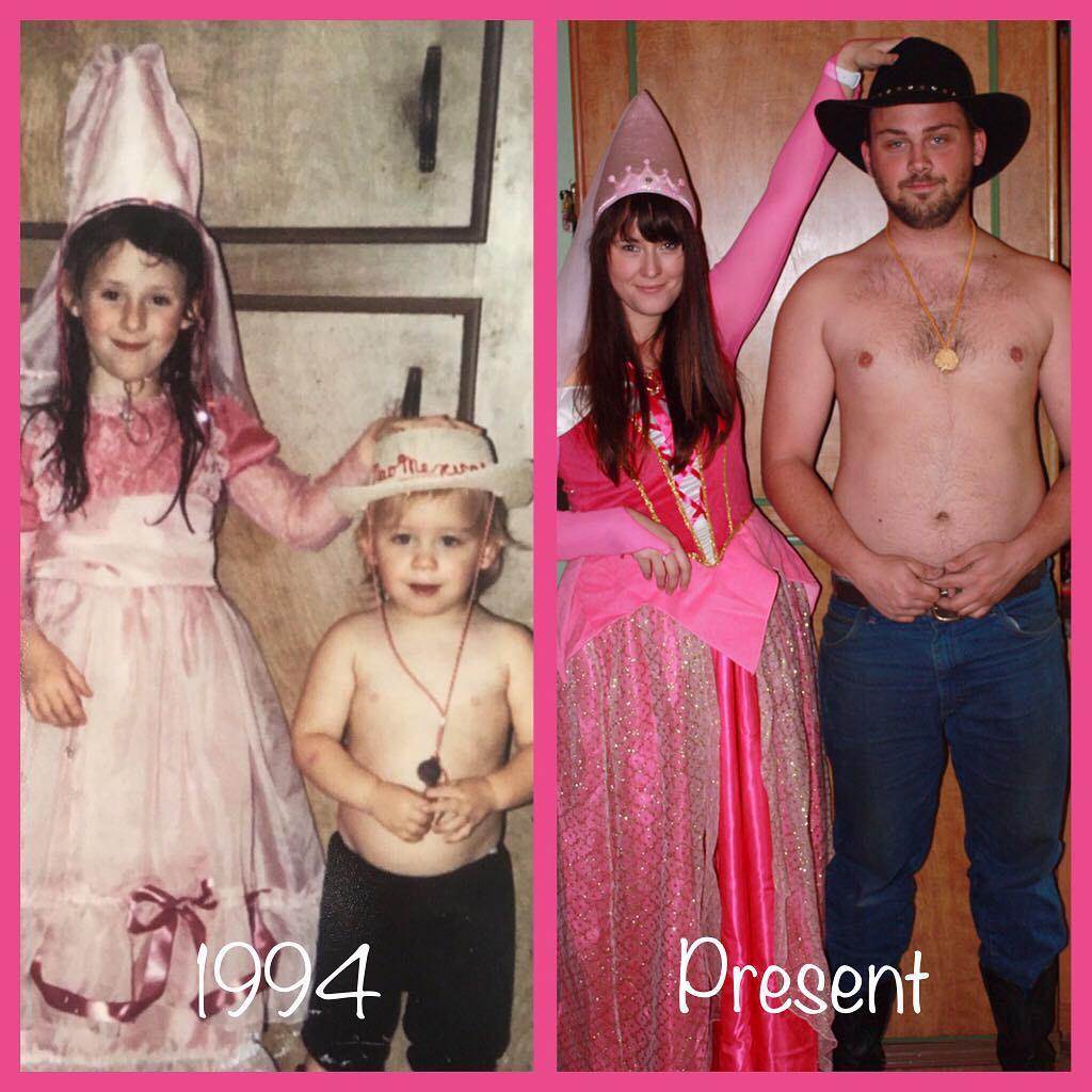 Các bố mẹ thi nhau khoe những bức hình chụp con ngày ấy - bây giờ, điều thú vị nằm ở 1 chi tiết đặc biệt - Ảnh 20