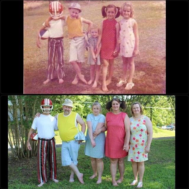 Các bố mẹ thi nhau khoe những bức hình chụp con ngày ấy - bây giờ, điều thú vị nằm ở 1 chi tiết đặc biệt - Ảnh 23