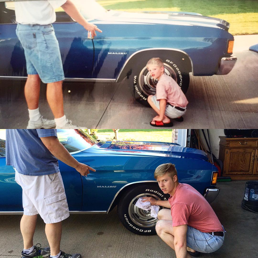 Các bố mẹ thi nhau khoe những bức hình chụp con ngày ấy - bây giờ, điều thú vị nằm ở 1 chi tiết đặc biệt - Ảnh 5