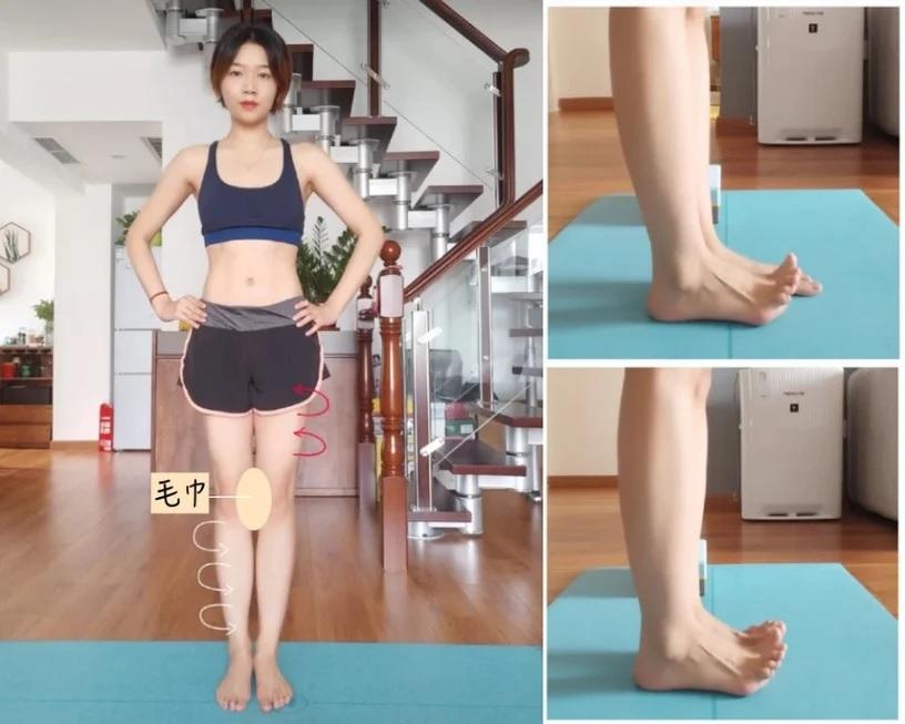 Chỉnh chân từ cong thành thẳng không khó, chỉ cần bạn chăm tập theo 3 động tác dưới đây - Ảnh 4
