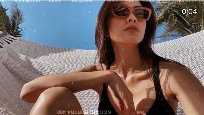 Hội bạn sang chảnh của Hà Tăng - Tiên Nguyễn đồng loạt diện bikini khoe body, mẹ 2 con 'đốt mắt' với vòng 1 căng tràn - Ảnh 5