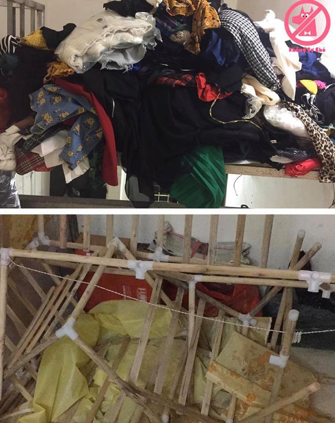 Mua quá nhiều quần áo, cô gái bị sập cả tủ, biết số lượng các bộ đồ ai cũng sốc - Ảnh 1