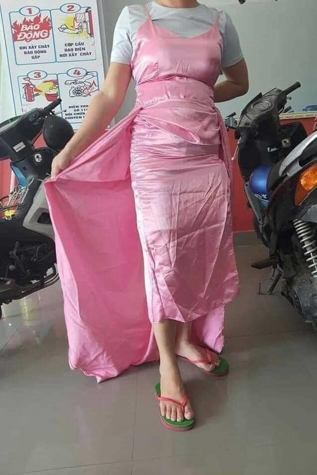 Mua váy dự tiệc qua mạng, cô gái nhận trái đắng khi hàng về là mớ vải nhàu nhĩ nhưng cú lừa tiếp theo mới khiến nhiều người ấm ức thay khổ chủ - Ảnh 2