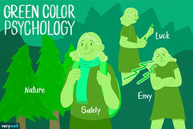 Tại sao nên mặc đồ màu xanh lá khi gặp crush lần đầu? Bí ẩn đằng sau gam màu có khả năng chữa lành cảm xúc - Ảnh 1