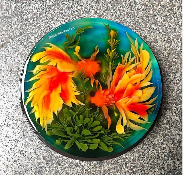 Nhìn món thạch rau câu này, đảm bảo chị em phải thốt lên đẹp rụng tim và không nỡ ăn! - Ảnh 4