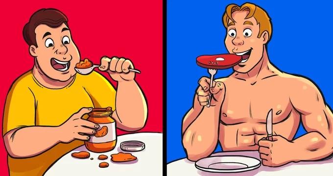 9 sai lầm khi ăn uống khiến bạn ngày một phát tướng - Ảnh 1